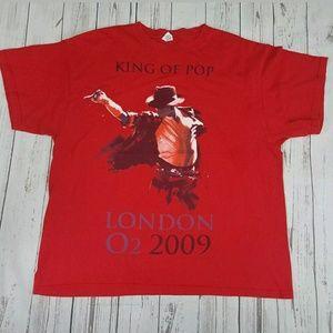 Michael Jackson Shirt Size XL MJ King of Pop
